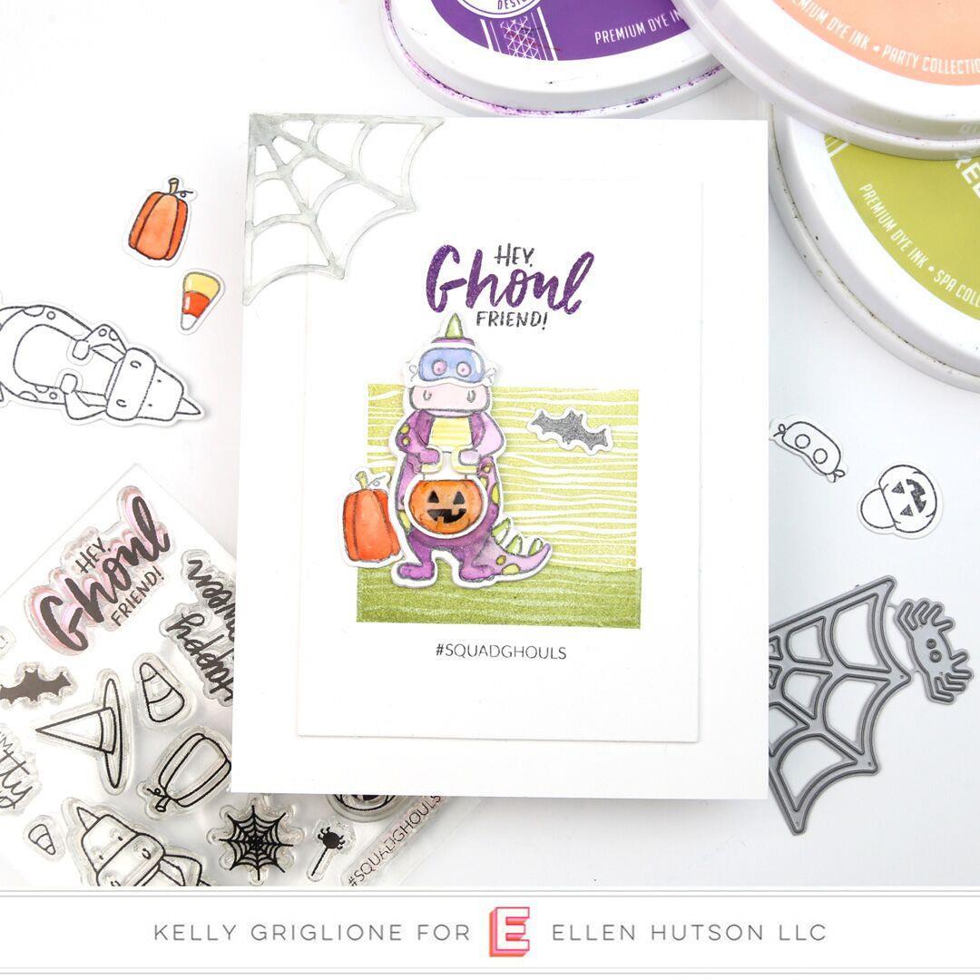 Dinomite Halloween By Brandi Kincaid, Essentials By Ellen Clear Stamps -