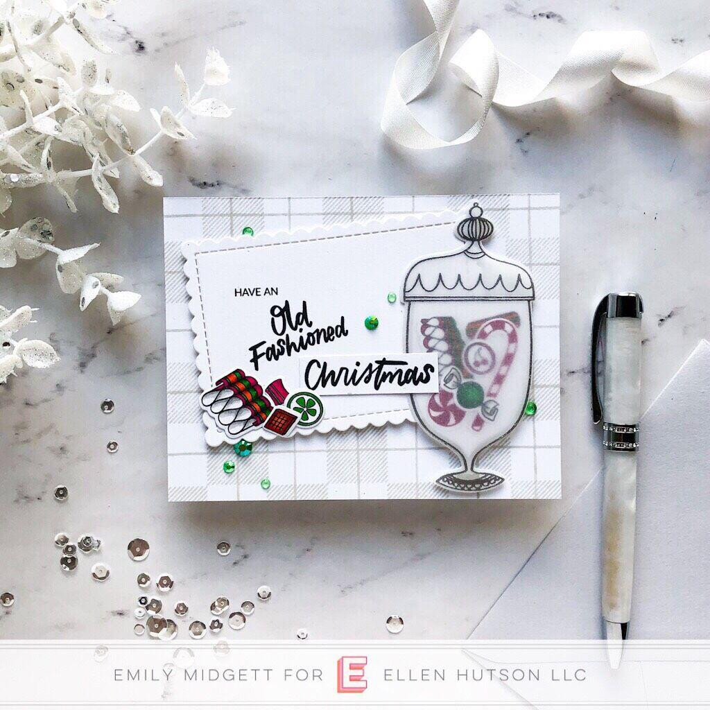 Hard Candy Christmas By Brandi Kincaid, Essentials By Ellen Clear Stamps -