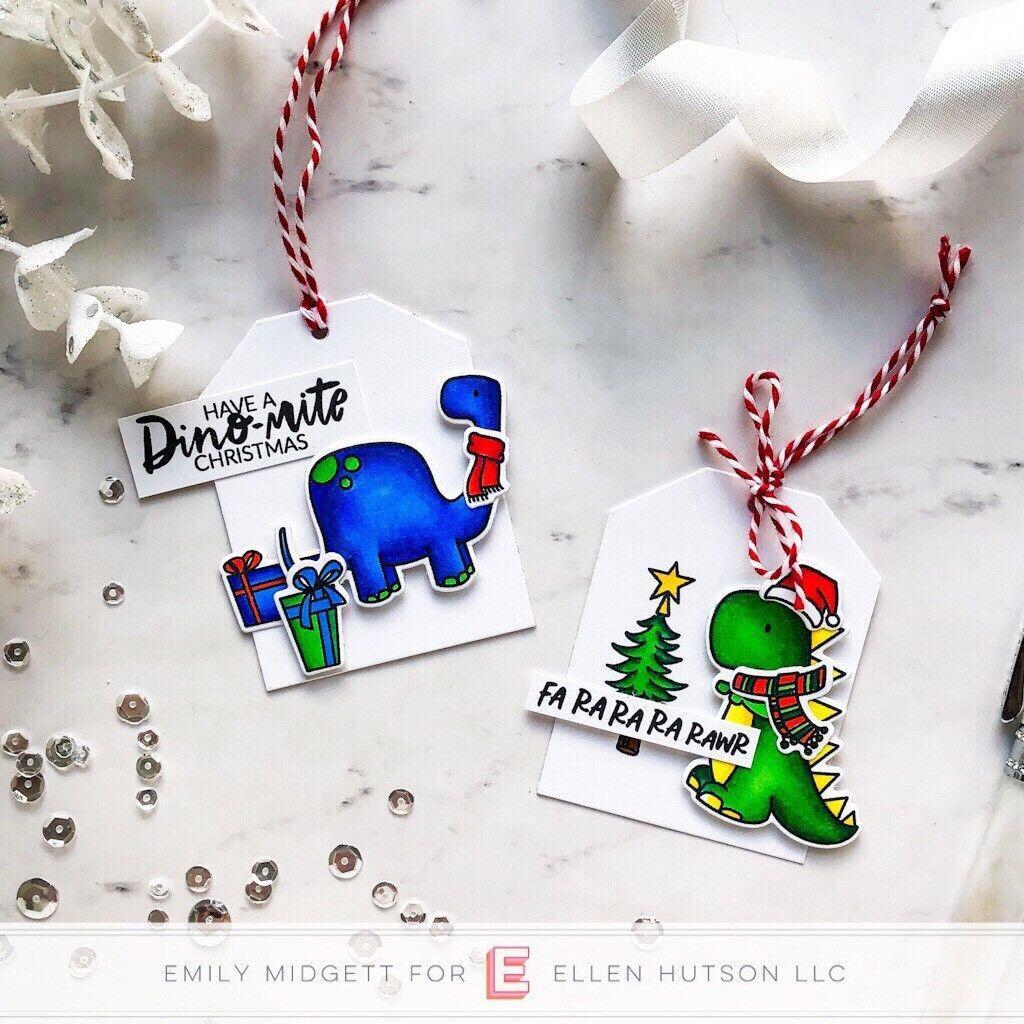 Dinomite Christmas By Brandi Kincaid, Essentials By Ellen Designer Dies -
