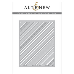 Candy Cane Stripe Cover, Altenew Dies - 737787254752