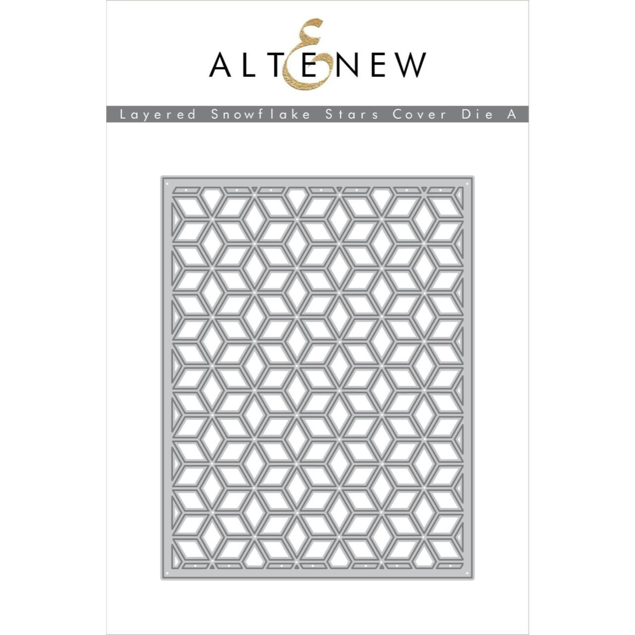 Layered Snowflake Stars Cover A, Altenew Dies - 737787254783