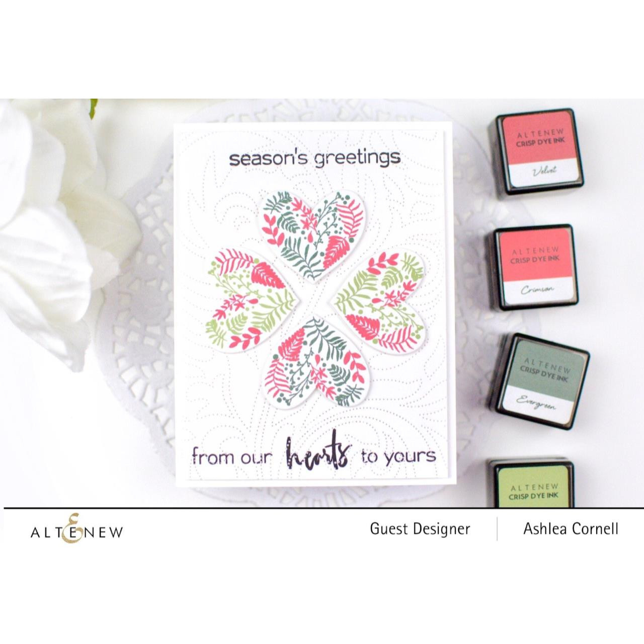 Festive Foliage, Altenew Clear Stamps - 737787254608