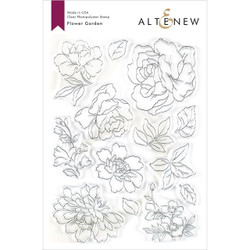 Flower Garden, Altenew Clear Stamps - 737787254639
