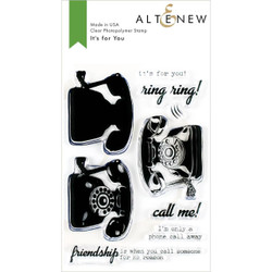 It's for You, Altenew Clear Stamps - 737787254677