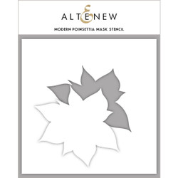 Modern Poinsettia, Altenew Mask Stencil - 737787254714