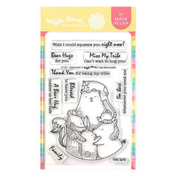 Bear Hugs, Waffle Flower Clear Stamps - 644216561629