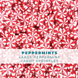 Large Peppermint Candy, Trinity Stamps Embellishments -