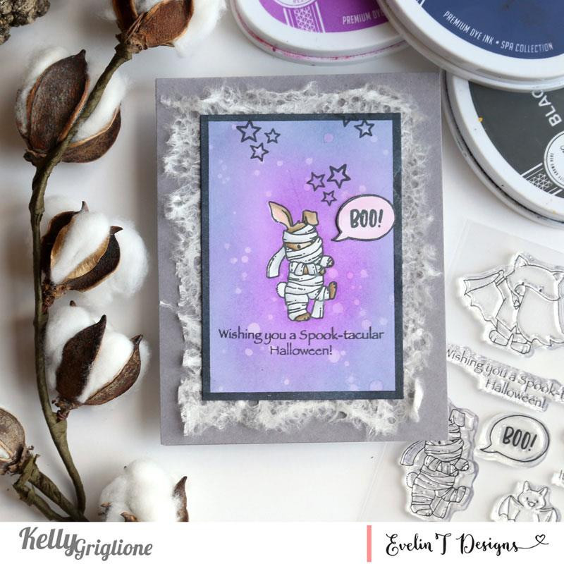It's Boo-tastic!, Evelin T Designs Clear Stamps - 725330029919