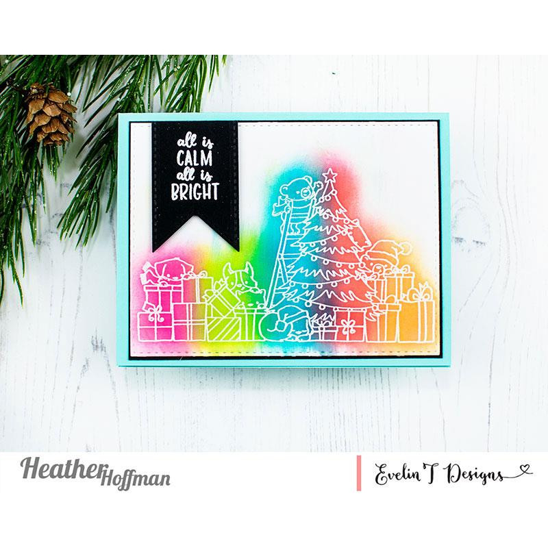All is Calm, Evelin T Designs Clear Stamps - 725330029926
