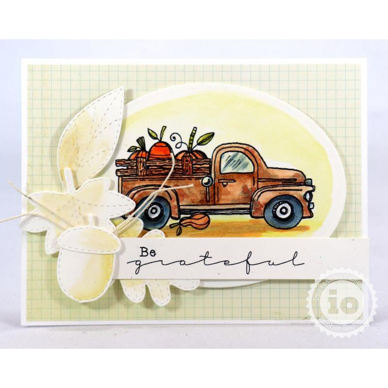 Sentiments, Impression Obsession Clear Stamps - 845638027308