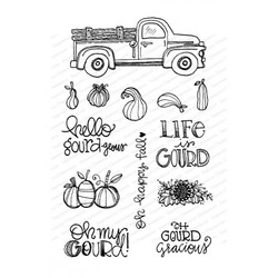 Gourdous, Impression Obsession Clear Stamps - 845638027124