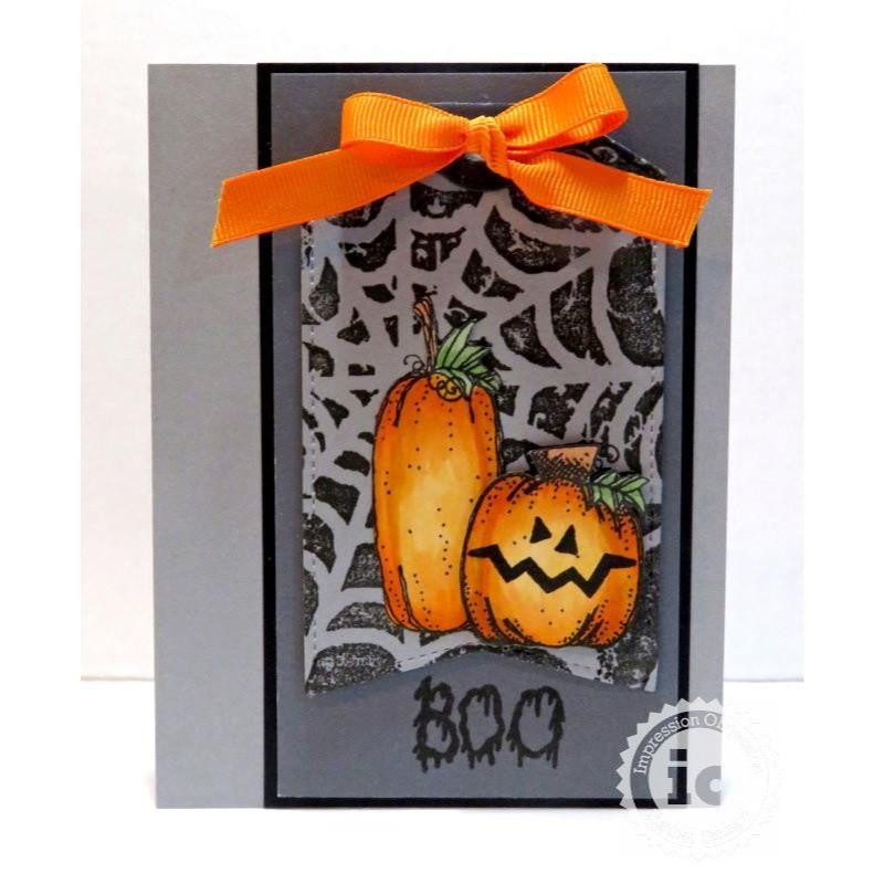 Pumpkins, Impression Obsession Clear Stamps - 845638027131