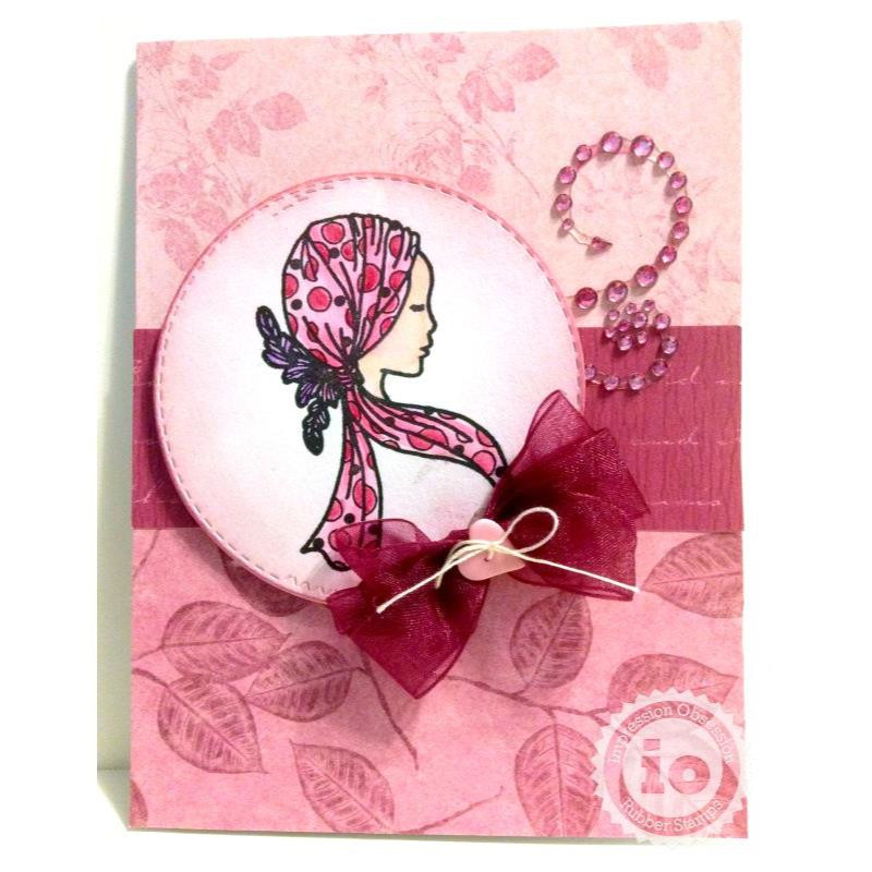 Hope, Impression Obsession Clear Stamps - 845638027254