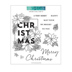 Christmas Florals, Concord & 9th Clear Stamps - 090222400764