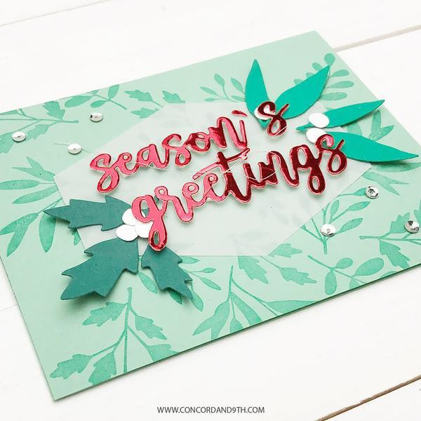 Holiday Foil, Concord & 9th Paper Pack - 090222400801