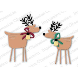 Two Folk Deer, Impression Obsession Dies - 845638028404