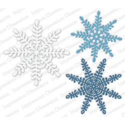Primitive Snowflakes, Impression Obsession Dies - 845638028299