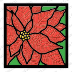 Poinsettia Frame, Impression Obsession Dies - 845638028268