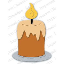 Chunky Candle, Impression Obsession Dies - 845638028176