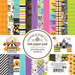 Candy Carnival, Doodlebug 6 X 6 Paper Pad - 842715065307