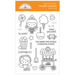 Trick or Treat, Doodlebug Clear Stamps - 842715064737