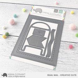 Snail Mail, Mama Elephant Creative Cuts -