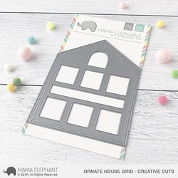 Ornate House Grid, Mama Elephant Creative Cuts -