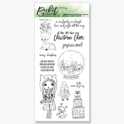 The Season Of Giving, Picket Fence Studios Clear Stamps - 745558001009