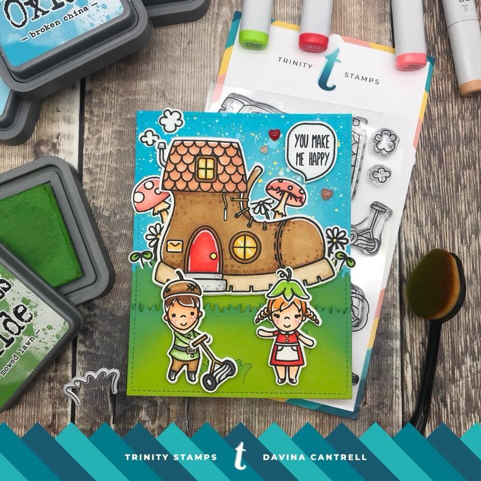 Shoe Sprites, Trinity Stamps Clear Stamps -