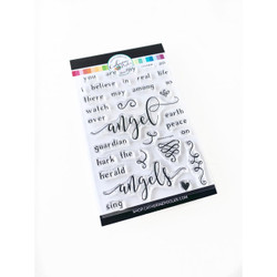 Believe In Angels, Catherine Pooler Clear Stamps -     819447025121