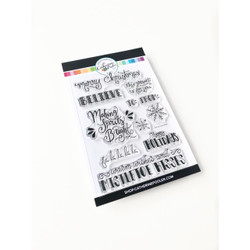 Making Spirits Bright, Catherine Pooler Clear Stamps - 819447023417