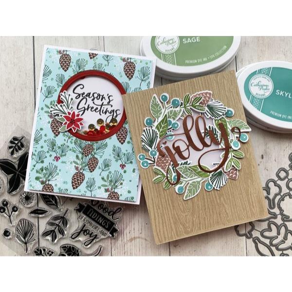 Boughs And Berries, Catherine Pooler Clear Stamps -      819447024667