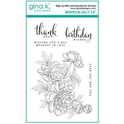 Wrapped In Love, Gina K Designs Clear Stamps - 609015540770