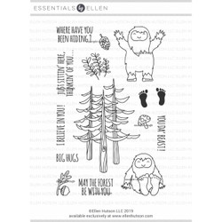 Lil' 'Squatch by Julie Ebersole, Essentials by Ellen Clear Stamps -