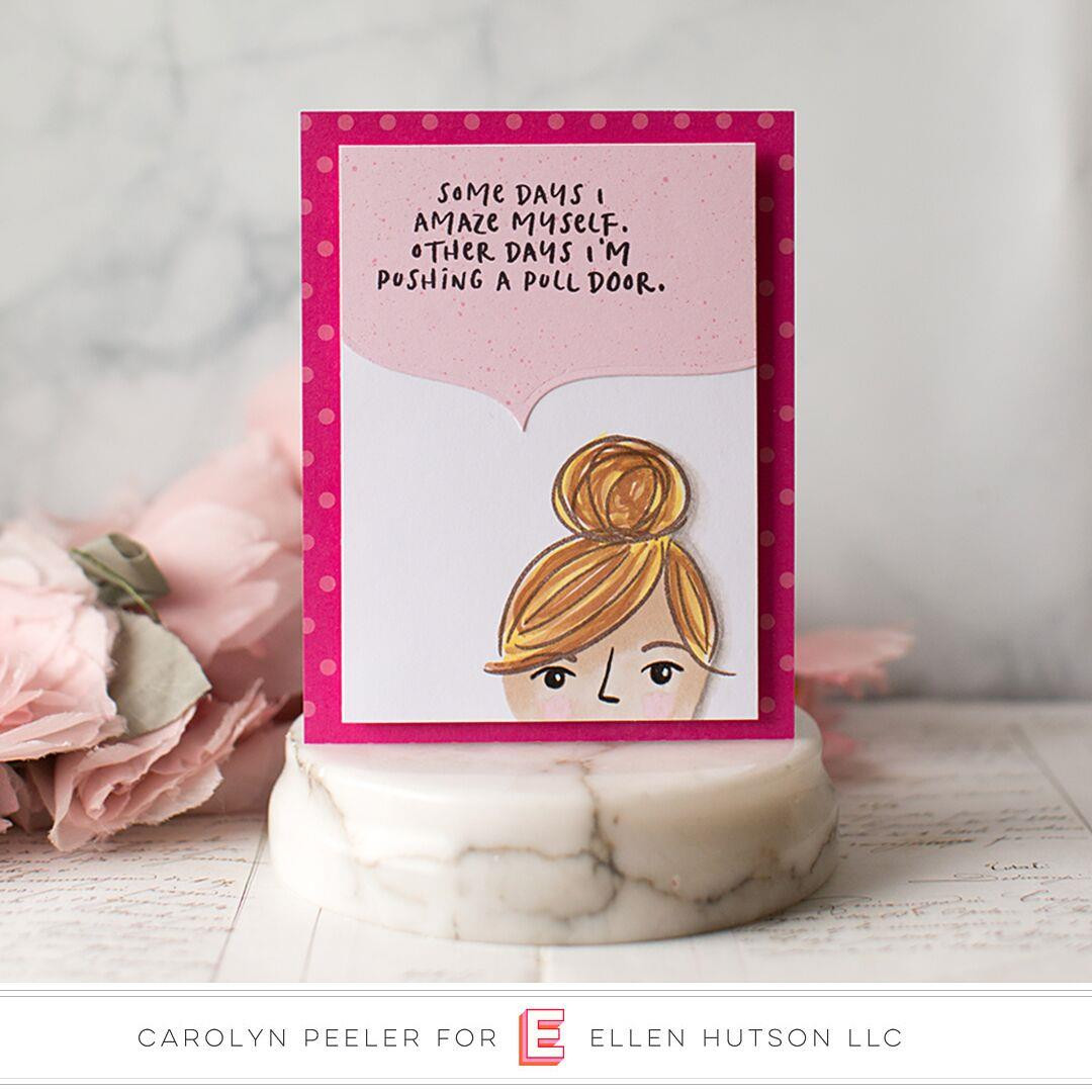 Voices in my Head Vol. 2 by Julie Ebersole, Essentials by Ellen Clear Stamps -