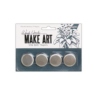 Make Art Stay-tion 4 Piece Magnet Set, Ranger Wendy Vecchi - 789541068037