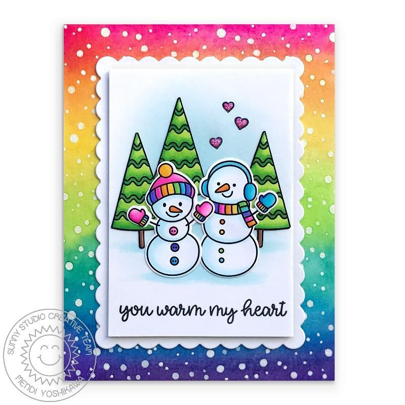 Feeling Frosty, Sunny Studios Clear Stamps - 797648687570