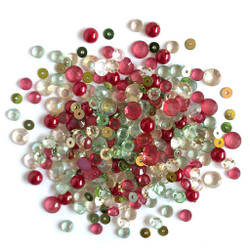 Home Spun Holidays, Buttons Galore Sparkletz - 840934070683