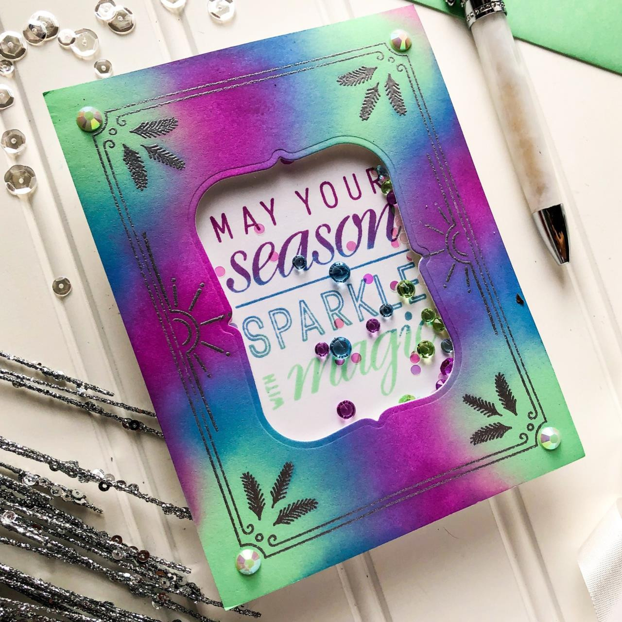 Sparkle With Magic, Pinkfresh Studio Clear Stamps - 782150203356