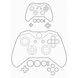 Game Controller, My Favorite Things Die-Namics - 849923032466