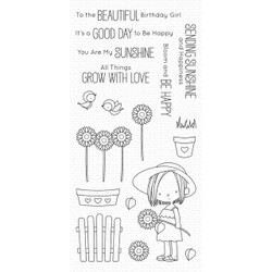 Sunflower Sweetheart By Birdie Brown, My Favorite Things Clear Stamps - 849923032329