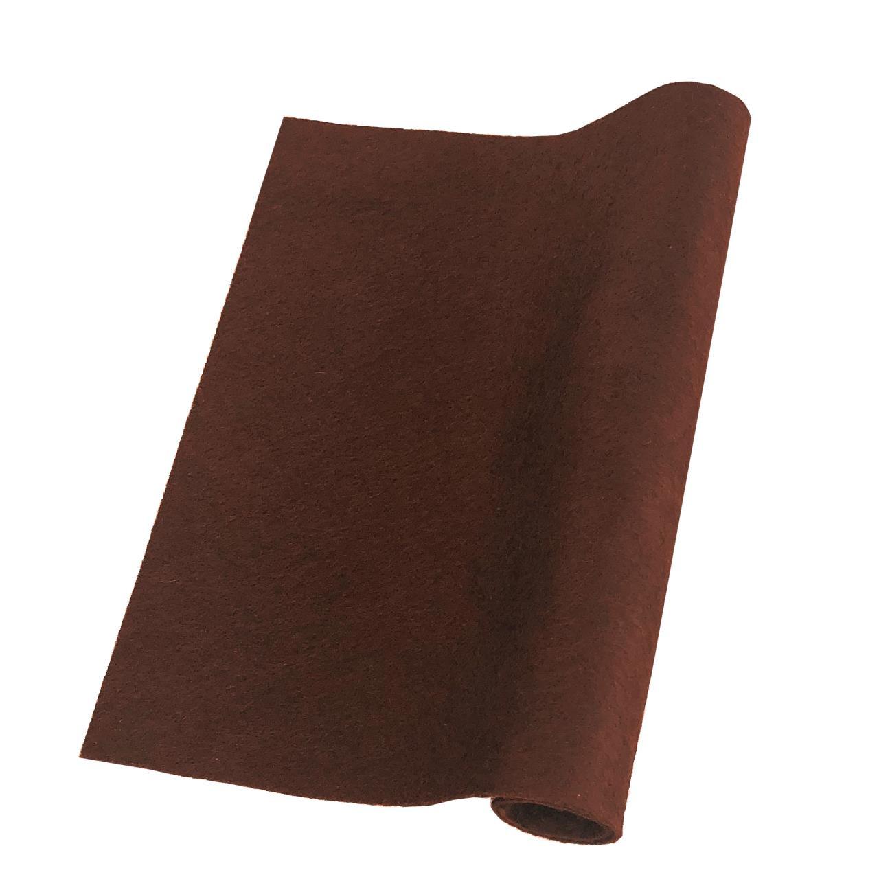 Dark Chocolate, Essentials By Ellen Wool Felt 9 X 12 - 5 Pk -