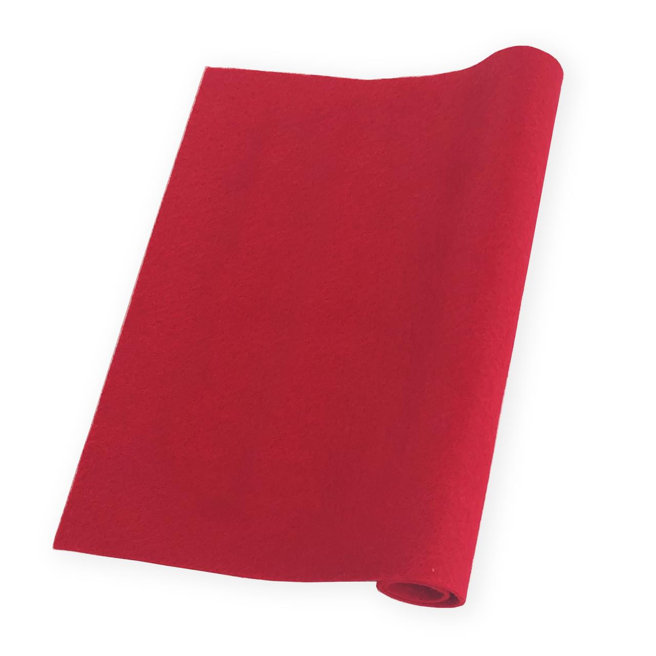 Ruby, Essentials By Ellen Wool Felt 9 X 12 - 5 Pk -