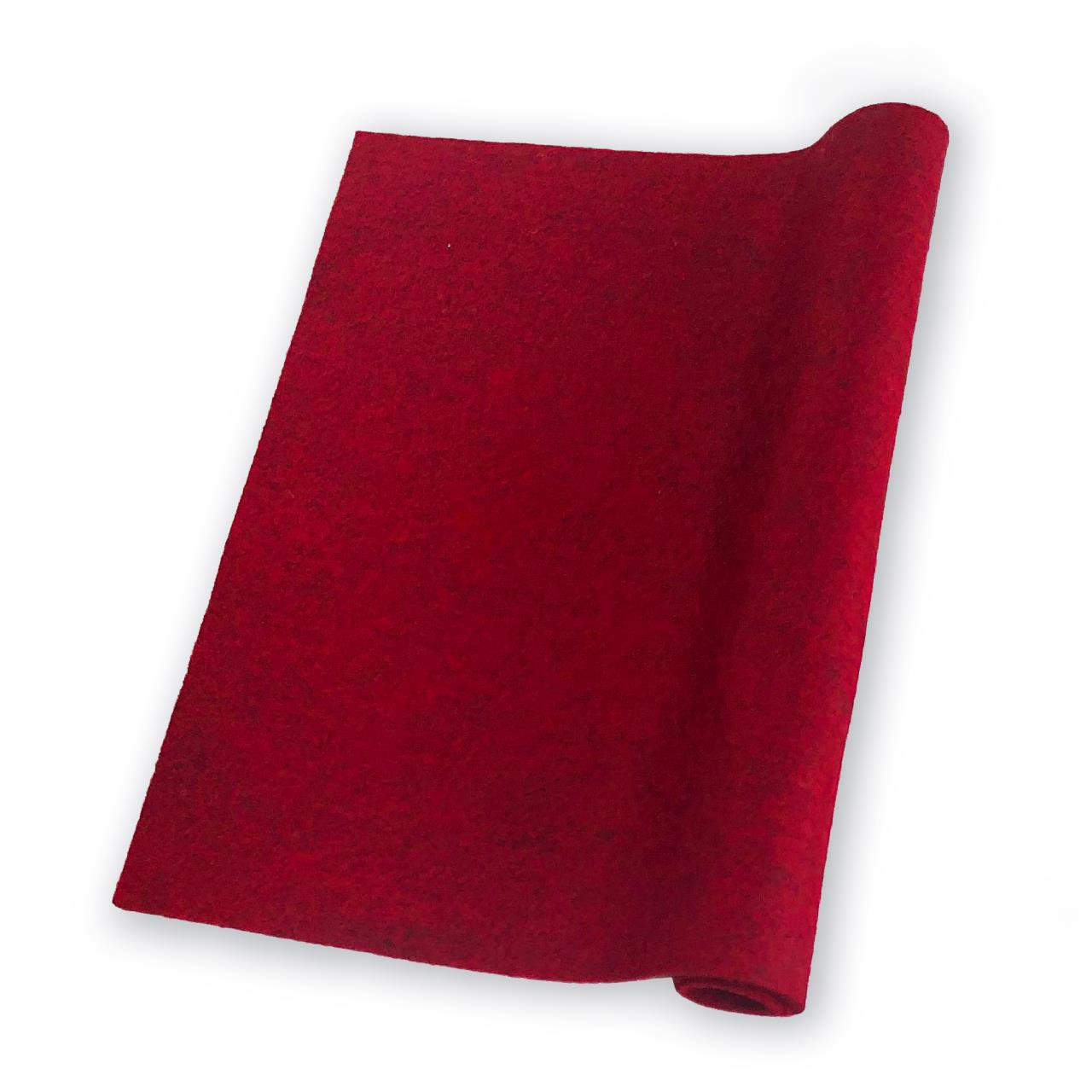 Barnyard Red, Essentials By Ellen Wool Felt 9 X 12 - 5 Pk -