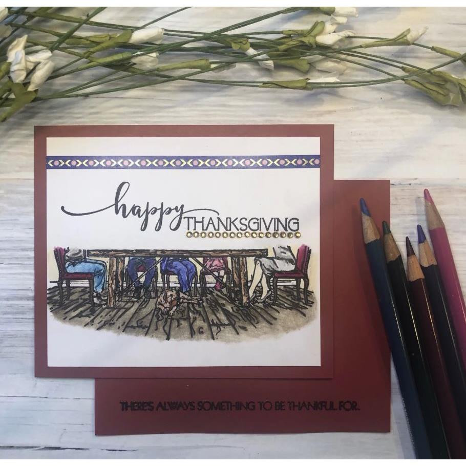 Give Thanks, Colorado Craft Company Clear Stamps - 857287008690