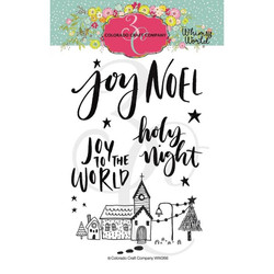 Noel, Colorado Craft Company Clear Stamps - 857287008256