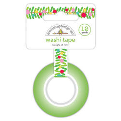 Boughs Of Holly, Doodlebug Washi Tape - 842715064331