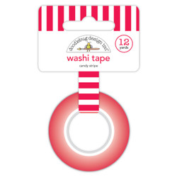 Candy Stripe, Doodlebug Washi Tape - 842715064348