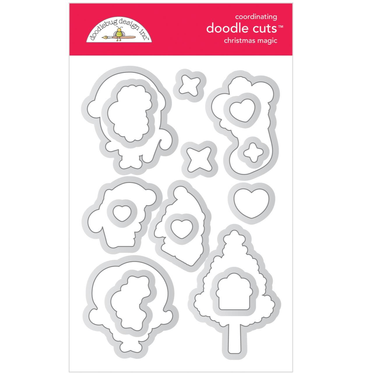 Christmas Magic, Doodle Cuts - 842715064782