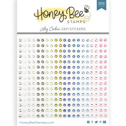 Log Cabin Gems, Honey Bee Stickers - 652827605922